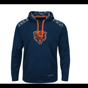 Chicago Bears Navy Majestic Ladies Offense Top